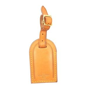 Keepall Speedy Alma Vachetta Leather Luggage Tag